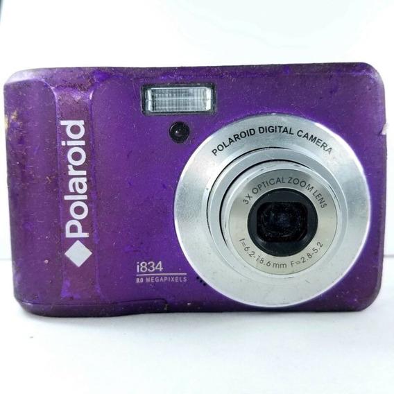 Aurojul-camara Polaroid Violeta T834-8,0-cd-pantalla Grande