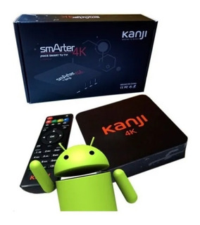 Conversor Smart Tv Box 4k 8gb Android