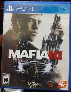 Juego De Play 4 Mafia Iii Original Usado