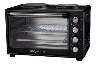 Horno Electrico Kanji Home Doble Anafe 48l