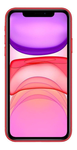 Celular Smartphone Apple iPhone 11 128gb Vermelho - 1 Chip