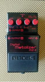 Boss Metalizer Mz-2 Japan 1988