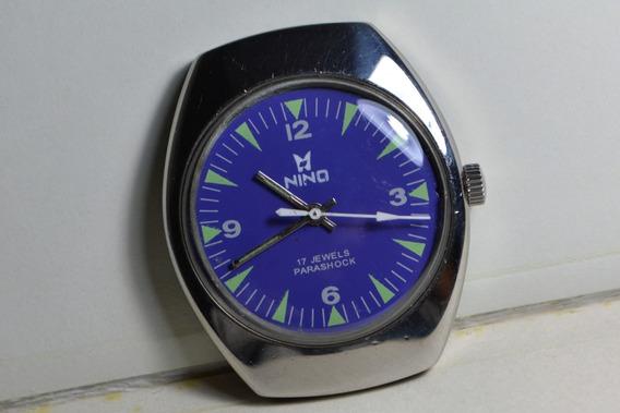 Relógio Masculino Nino Corda Manual Sem Pulseira