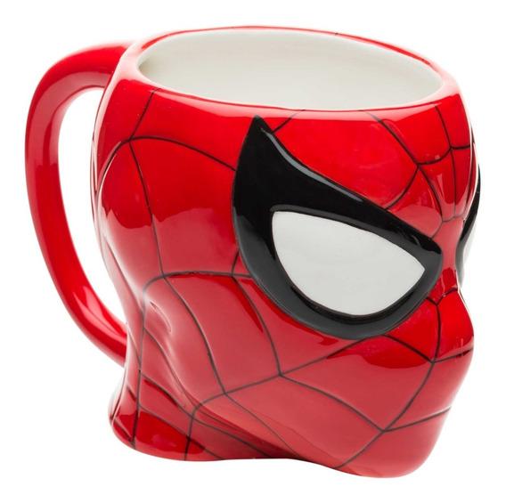 Taza Cafe Ceramica Spiderman Hombre Araña Disney Marvel