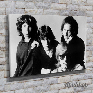 Cuadros Lienzo 45x30 The Doors Banda Rock Jim Morrison