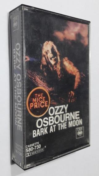 Ozzy Osbourne - Bark At The Moon ( Cassette ) Transparente
