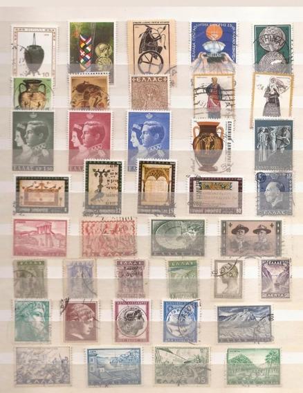 Selos Da Grecia - 39 Selos Comemorativos, Novos E Usados