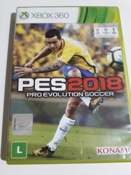 Pes 2018 Xbox 360 Mídia Física