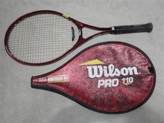 Liquido Raqueta Tenis Wilson Pro 110 No Babolat Head