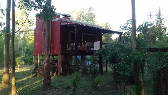 Casa En Isla Sobre Rio Paraná De Las Palmas