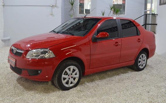 Fiat Siena El 1.4 8v Gnc 2015 Rojo En Muy Buen Estado!!