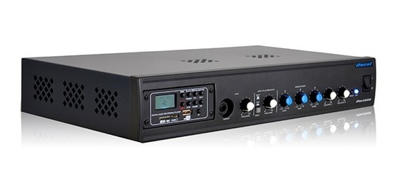 Mixer Amplificado - Om 4000 Usb/sd/fm/rec/bt