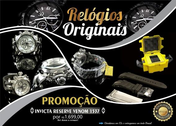 Relógio Invicta Reserve Venom 1537 (frete Grátis)
