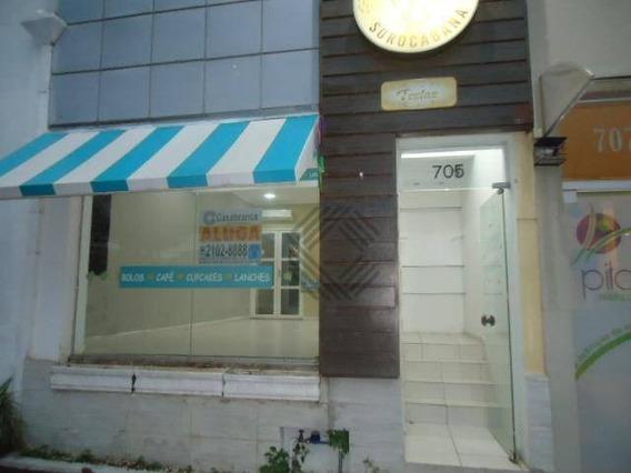 Salão Para Alugar, 60 M² Por R$ 1.200,00/mês - Centro - Sorocaba/sp - Sl0458