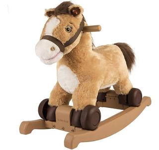 Pony Rockin Rider Caballo Mecedora 2 En 1 Para Niños