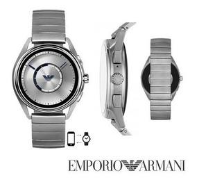 Reloj Emporio Armani Smartwatch Art-5006/2019-4ta Gen/plata.