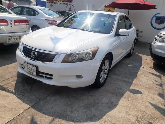 Honda Accord 3.0 Ex Sedan V6 Piel Abs Qc Cd Mt 2008