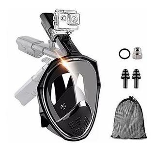 Snorkel Mask Mascara De Buceo 180 Grados De Visión(l / Xl)