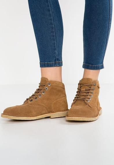 Botin Botas Zapatos Mujer Kickers Timberland Gamuza
