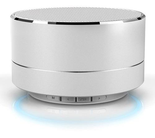 Mini Parlante En Aluminio Bluetooth Aux 3.5mm Micro-sd V2 ®