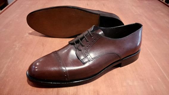 Zapato Fino Clásico De Hombre Fondo Suela Cosido Liberty 804