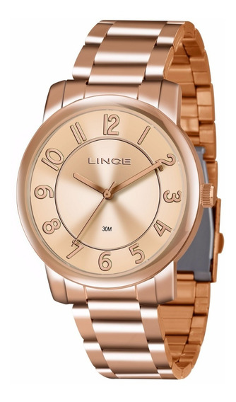 Relogio Lince Feminino Lrr4439l R2rx Rose Gold Oferta