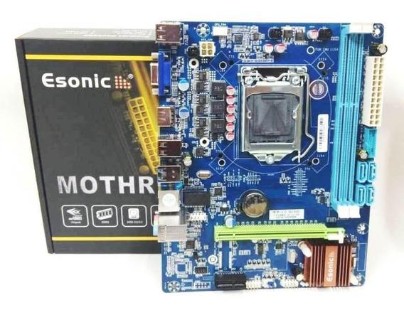 Placa Mãe Chipset Intel Lga 1150 H81 Ddr3 Hdmi H81m-k