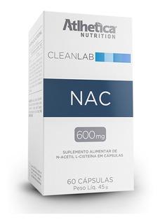 N-acetyl L-cysteine (60caps) - Nac - Atlhética - Cleanlab