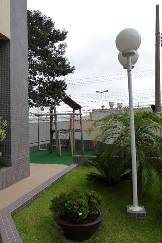 Imagem 1 de 15 de Apartamento Dois Dormitórios E Ampla Varanda Gourmet No Aquárius - Ap0173