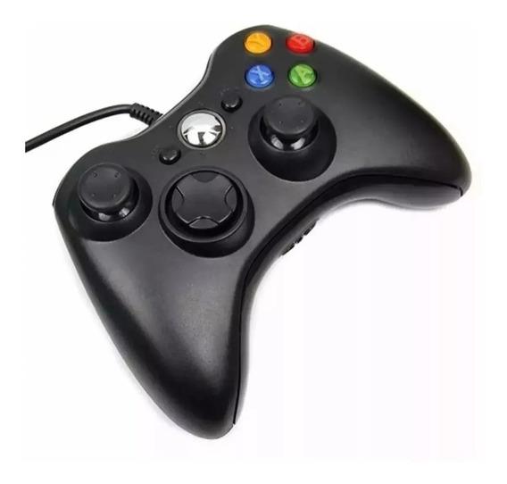 Controle Para Ps3 E Pc Controle Tipo Xbox Com Cabo Usb