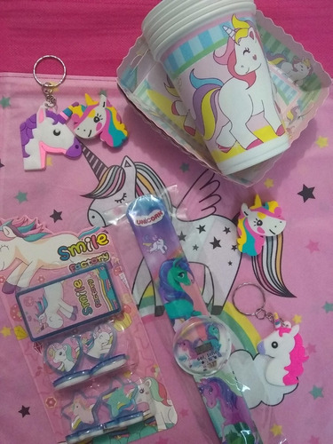 Kit Decoración Paw Patrol Frozen Unicornio Lol 42 Artíc