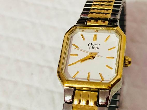 Reloj Bulova Carabelle Dama Muy Bonito Estencible Frexible