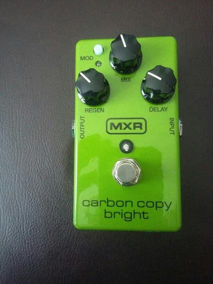 Pedal Delay Analógico Mxr Carbon Copy Bright