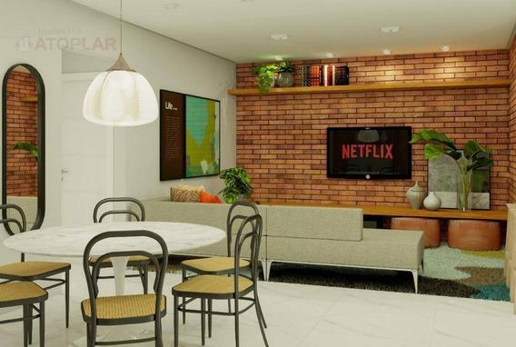 Apartamento Com 2 Dormitórios À Venda, 87 M² Por R$ 305.000,00 - Nova Esperança - Balneário Camboriú/sc - Ap0611