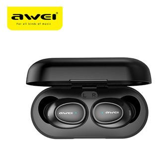 Awei T6 True Stereo Inalámbrico Tws Bt Auricular Moda Mini
