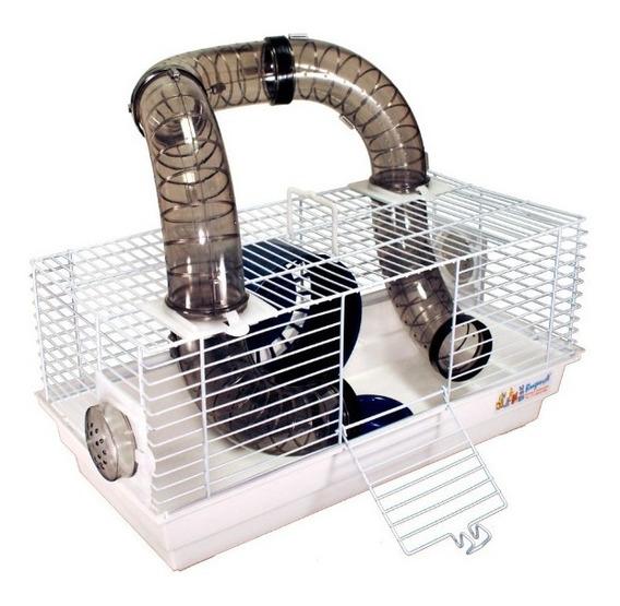 Gaiola Hamster Tubo