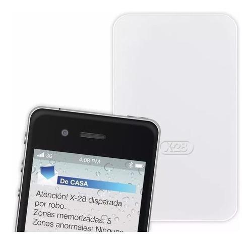 Imagen 1 de 6 de Llamador Controlador Gsm Sms Com20 Mpxh X28 Alarmas Apto Comando Via App Celular