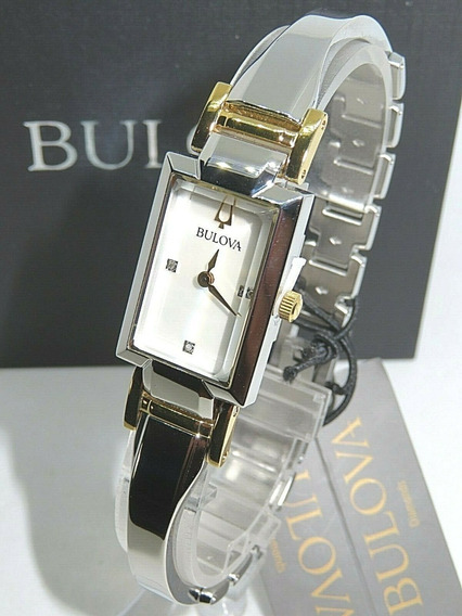 Relógio Bulova Ladies Bangle 98p188 - Original