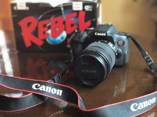 Camara Canon Eos Rebel T6i