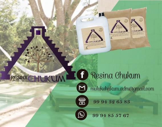 Kit De Resina De Chukum Maya Color Crema