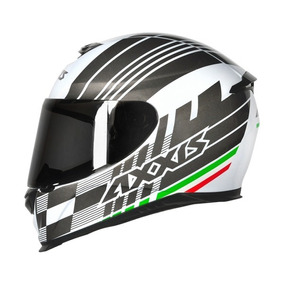 Capacete Mt/axxis Eagle Italy Gloss Branco