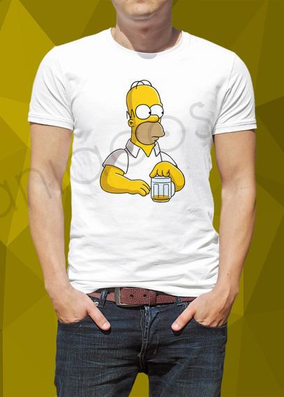 Camisa Homer Simpson 178c