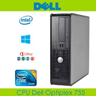 Cpu Core 2 Duo Dell Optiplex 2.66 Ghz 4 Gb 320 Gb Teclado
