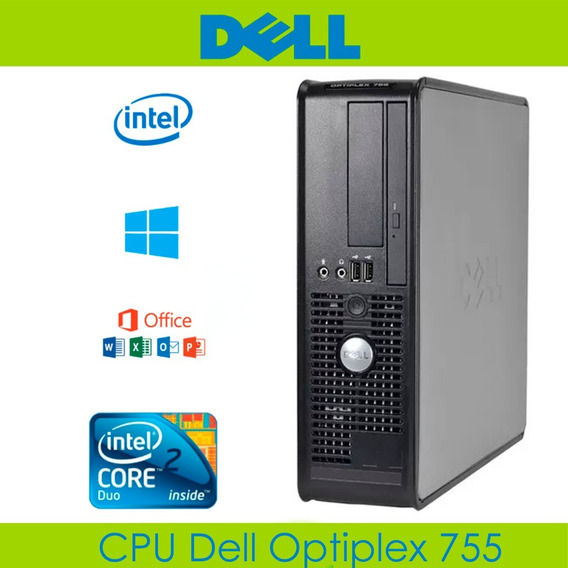 Cpu Core 2 Duo Dell Optiplex 2.66 Ghz 4 Gb 320 Gb Teclado
