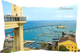 Almofada Salvador Bahia Cidades Famosas Decoração Decore