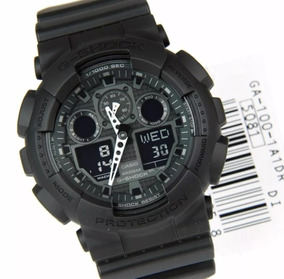 Relógio Masculino Casio G-shock Ga-100-1a1dr Original.