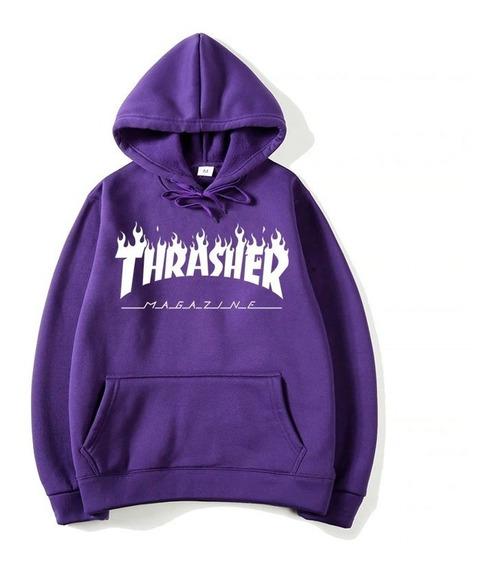 Moletom Blusa De Frio Masculino Thrasher - Lançamento Oferta