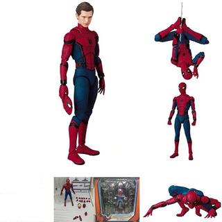 Spiderman Figura Acción Colección Heroe Marvel Mafex Oem