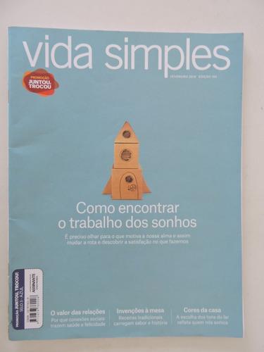 Imagem 1 de 4 de Revista Vida Simples #192 Como Encontrar Trabalho Dos Sonhos