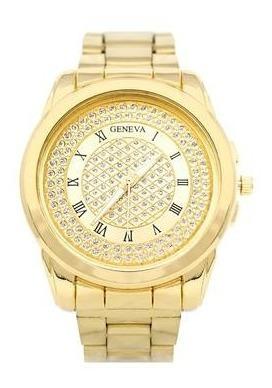 Pesat Metal Dorado | Reloj De Mano Elegante